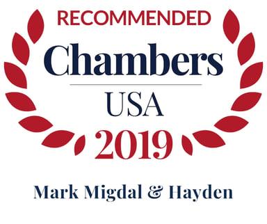 Chambers USA 2019 MM&H